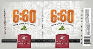 Wallace Brewing 6:60