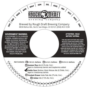 Rough Draft Brewing Company Kettle Sour