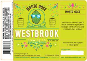 Westbrook Brewing Company Mojito Gose