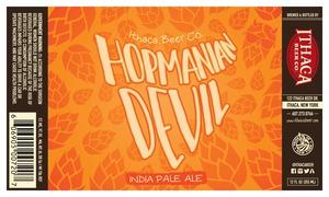 Ithaca Beer Company Hopmanian Devil