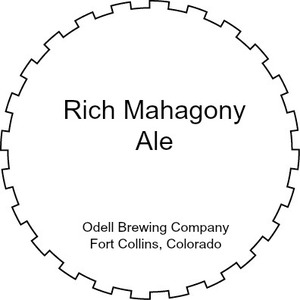 Odell Brewing Company Rich Mahagony Ale