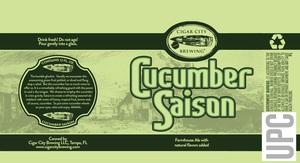 Cucumber Saison