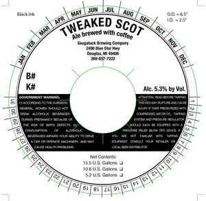 Saugatuck Brewing Company Tweaked Scot