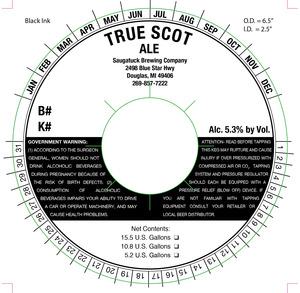 Saugatuck Brewing Company True Scot