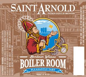 Saint Arnold Brewing Company Boiler Room