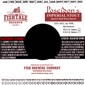 Fish Tale Ales Poseidon Red Wine Imperial Stout