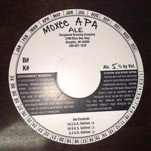 Saugatuck Brewing Company Moxee Apa
