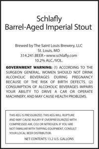 Schlafly Barrel-aged Imperial Stout