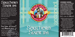 Highland Brewing Co. Southern Sixer