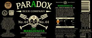 Paradox Beer Company Mangozacca