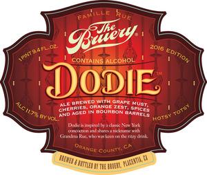 The Bruery Dodie