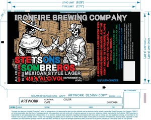 Ironfire Brewing Company Stetsons And Sombreros