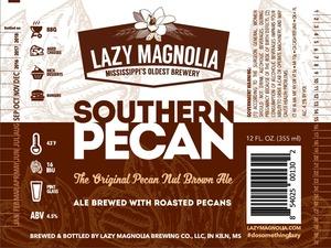 Lazy Magnolia Brewing Company Southern Pecan