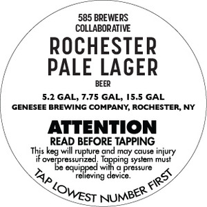 Rochester Pale Lager