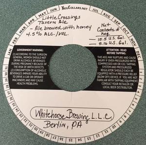 Whitehorse Brewing, LLC Little Crossings Tavern Ale