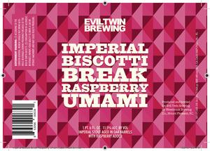 Evil Twin Brewing Imperial Biscotti Break Raspberry Umami