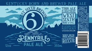 West Sixth Brewing Pennyrile Pale