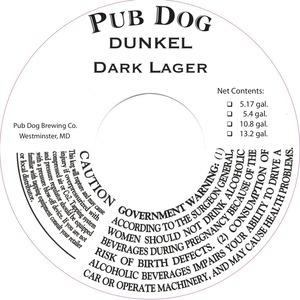 Pub Dog Dunkel Dark