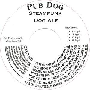 Pub Dog Steampunk Dog