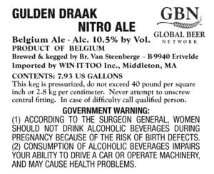 Gulden Draak Nitro Ale