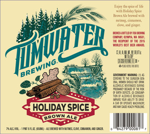 Tumwater Brewing Holiday Spiced Brown Ale