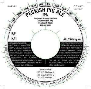 Saugatuck Brewing Company Peckish Pig