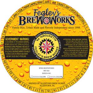 Fegley's Brew Works Nitro Richter's Red