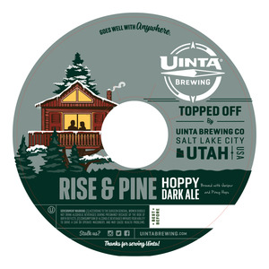 Uinta Brewing Co Rise & Pine