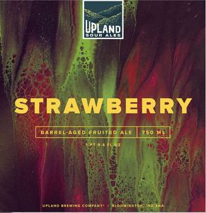 Upland Brewing Company Strawberry