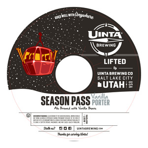 Uinta Brewing Co Season Pass