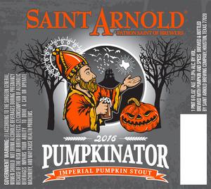 Saint Arnold Brewing Company Pumpkinator