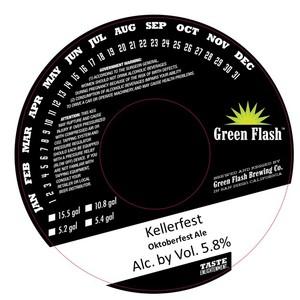 Green Flash Brewing Company Kellerfest