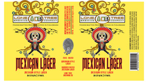 Lone Tree Brewing Company Summer Siesta Mexican Lager