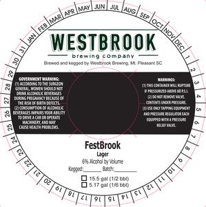 Westbrook Brewing Company Festbrook