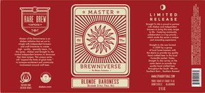 Blonde Baroness Master Of The Brewniverse