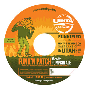 Uinta Brewing Co Funk'n Patch