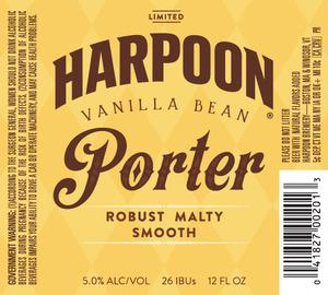 Harpoon Vanilla Bean