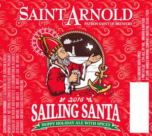 Saint Arnold Brewing Company Sailing Santa