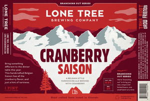 Lone Tree Brewing Company Cranberry Saison