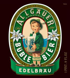 Allgauer Buble Bier