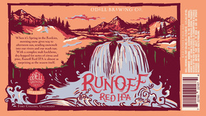 Odell Brewing Company Runoff Red India Pale Ale