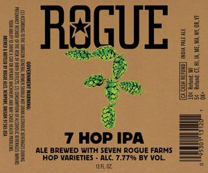 Rogue 7 Hop IPA September 2016