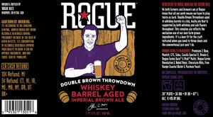 Rogue Double Brown Throwdown