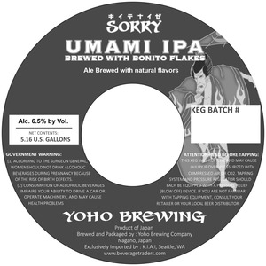 Sorry Umami Ipa