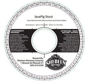 Shebeen Brewing Company Javapig Stout