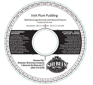 Shebeen Brewing Company Irish Plum Pudding