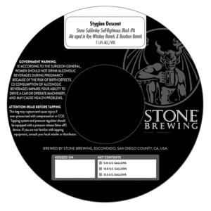 Stone Brewing Stygian Descent