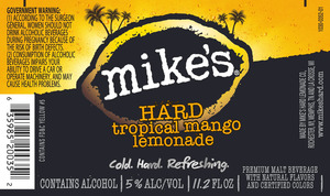 Mike's Hard Tropical Mango Lemonade