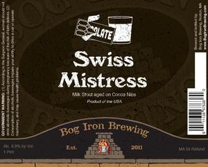 Bog Iron Brewing Swiss Mistress