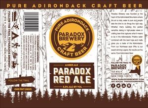 Paradox Brewery Paradox Red Ale